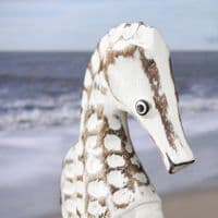 Little Seahorse Carving | Wooden Seahorse | Hand Carved Seahorse